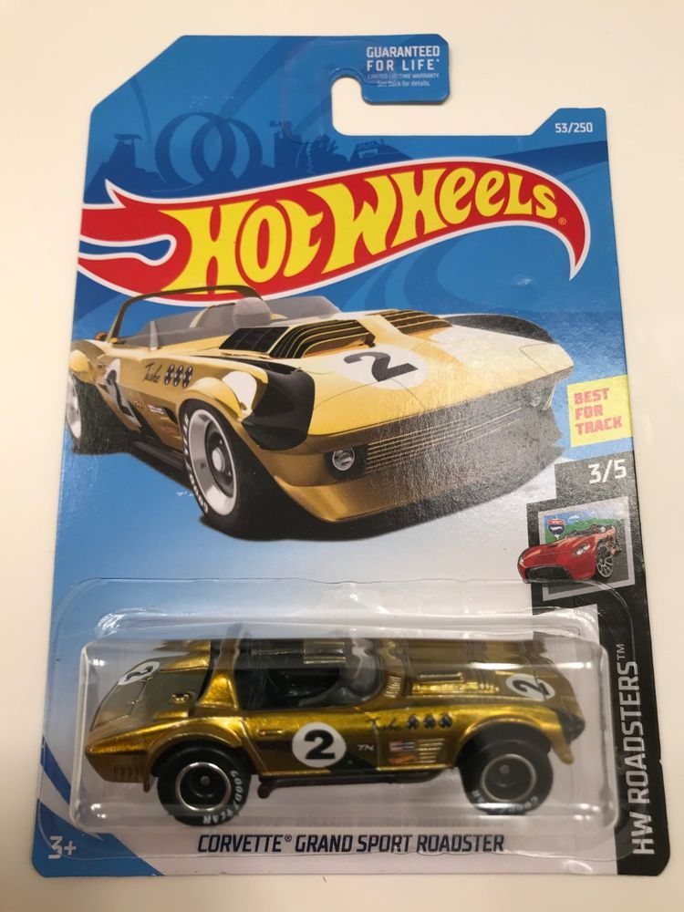 2019 Hot Wheels Corvette Grand Sport Roadster Super Treasure Hunt