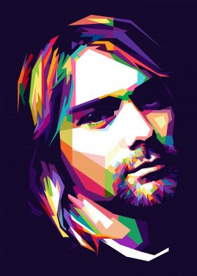 Kurt Cobain | Displate thumbnail