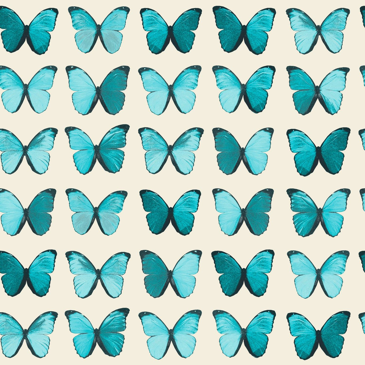 The Papillon Wallpaper In Teal From Arthouse Is A Classic And
