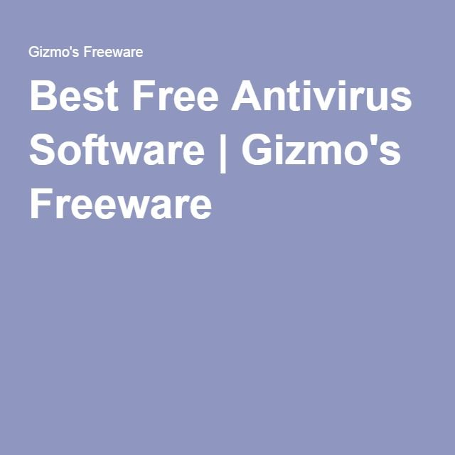 freeware antivirus best