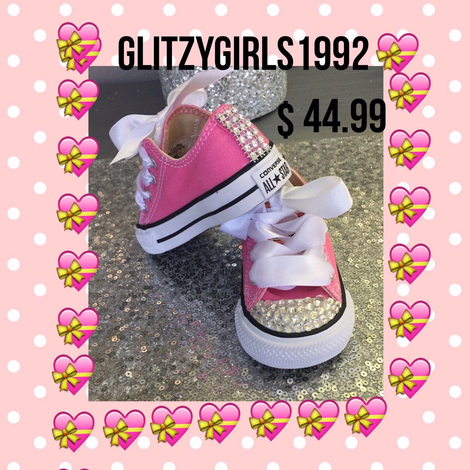 4b51a6f011ec15 Wedding Converses Wedding Sneakers Flower Girl Sneakers Size 2 3 4 5 6 7 8  9 10 Converse Custom Sneakers Bling Sneakers Rhinestone Sneakers  by ...