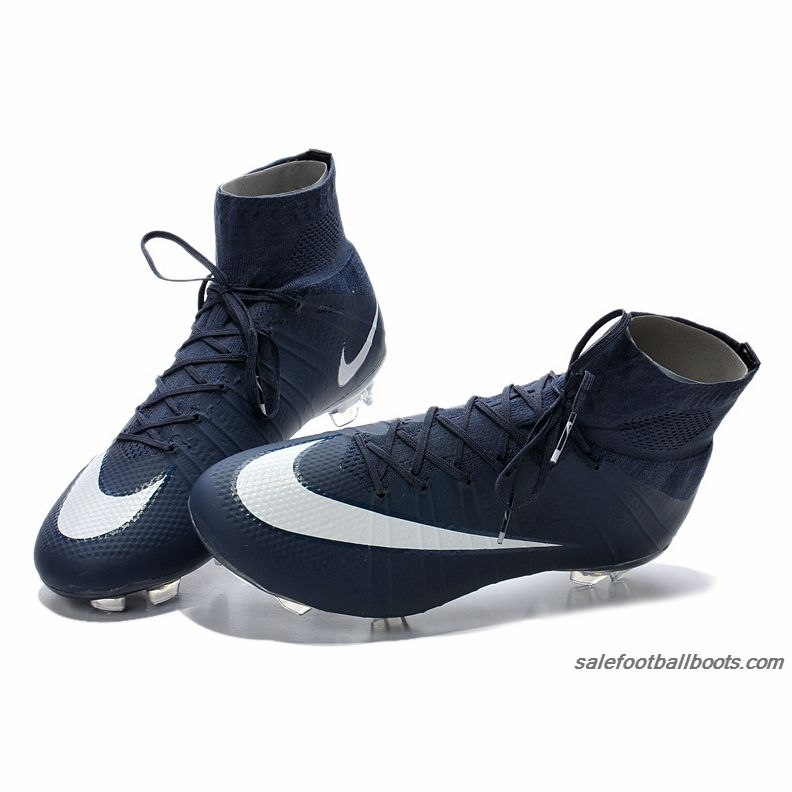 the latest 5bfac 8da28 Nike Mercurial Superfly FG Dark Blue White  109.99
