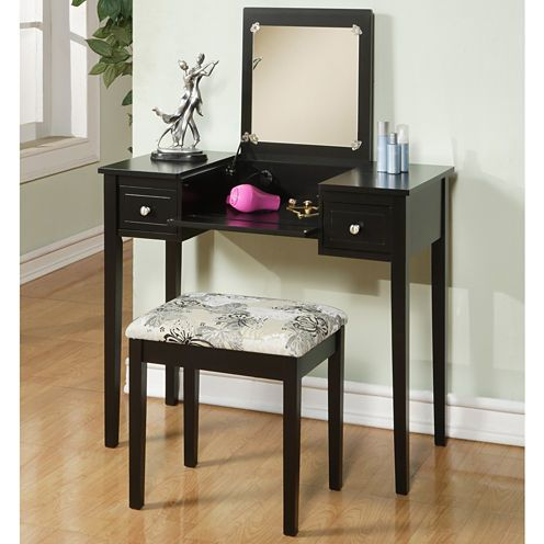 Bethany Vanity Set Mirror panels, Bath vanities and Vanities - Bedroom Vanity Table