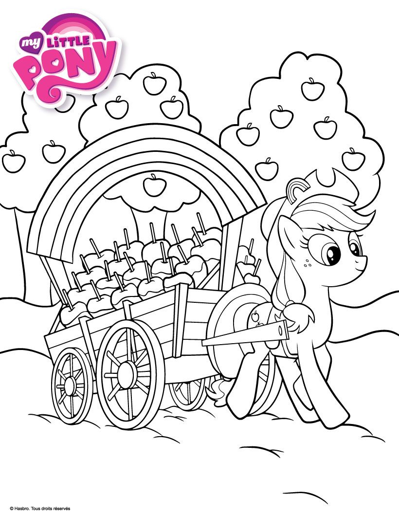 Coloriage my little pony my little pony pinterest - Coloriage de my little pony ...