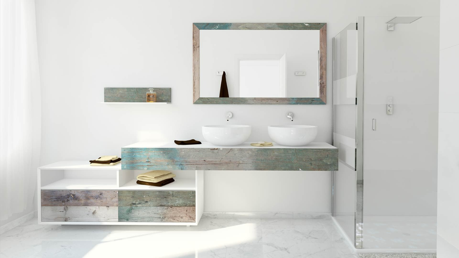 Bathroom interior hd weathered wood look bathroom vanities stunningly beautiful  home