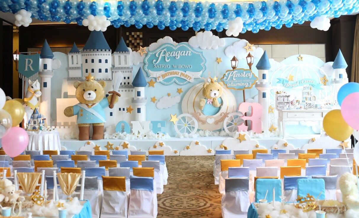 Prince And Princess Of Teddyland With Images Kids Party