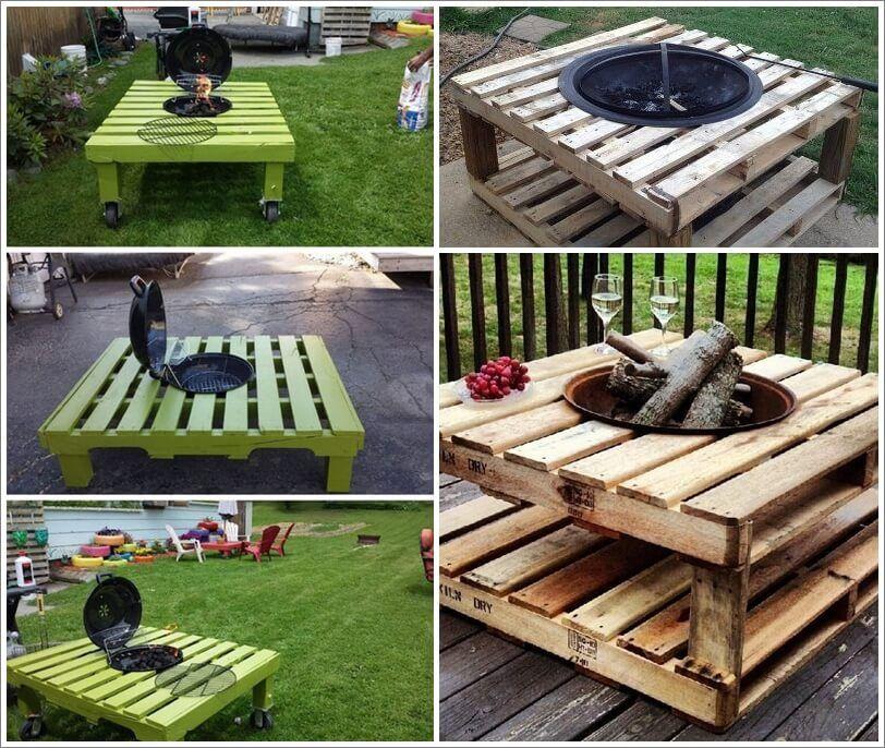 Build a pallet fire pit that won 39 t break the bank 1 for Fire pit project