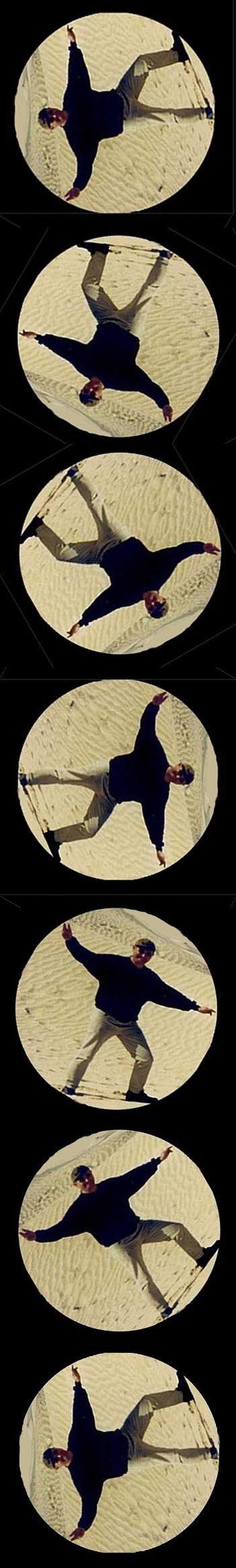 douz cartwheel by rangutan