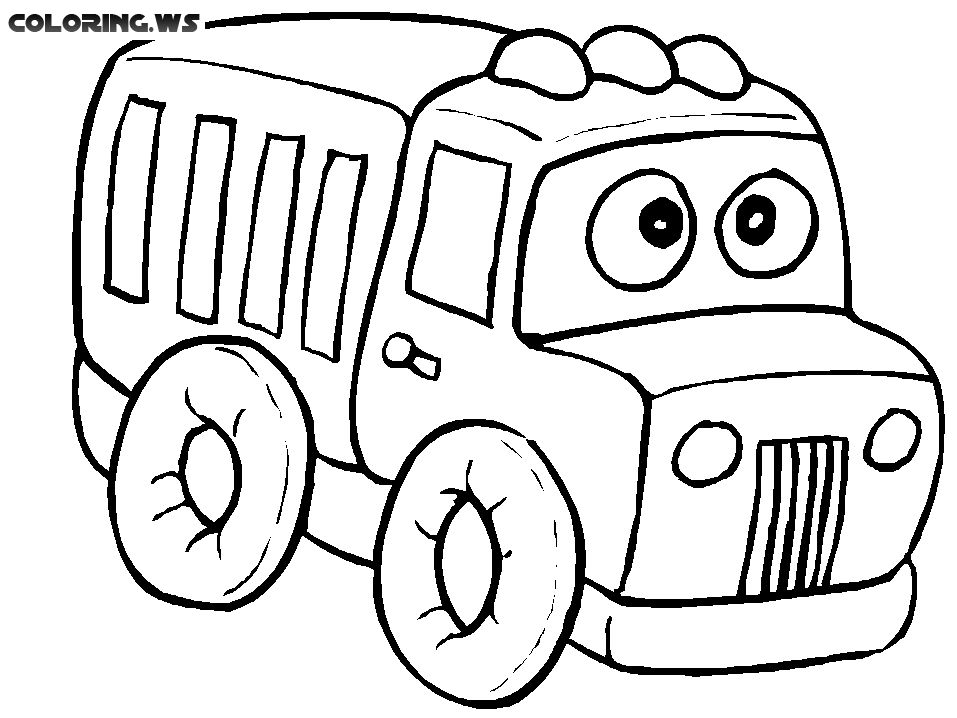 Truck Coloring Pages For Babies Truck Coloring Pages In This