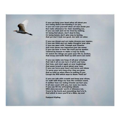 Online Essays Poem Comparison Essay If Poem By Rudyard Kipling Essay Reflective Essay English Class also English Essay Introduction Example If By Rudyard Kipling Print  Truth Poster  Pinterest  Rudyard  Raksha Bandhan Essay