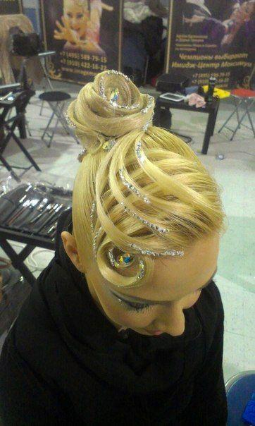 Classic Ballroom Elegance Ballroom Competition Hair