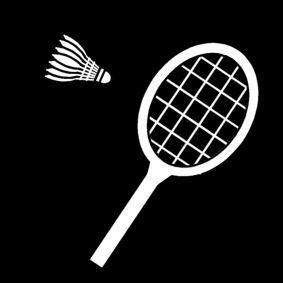 Kleurplaat Over Voetbal Gratis Pictogram Badminton Pictogrammen En Symbolen
