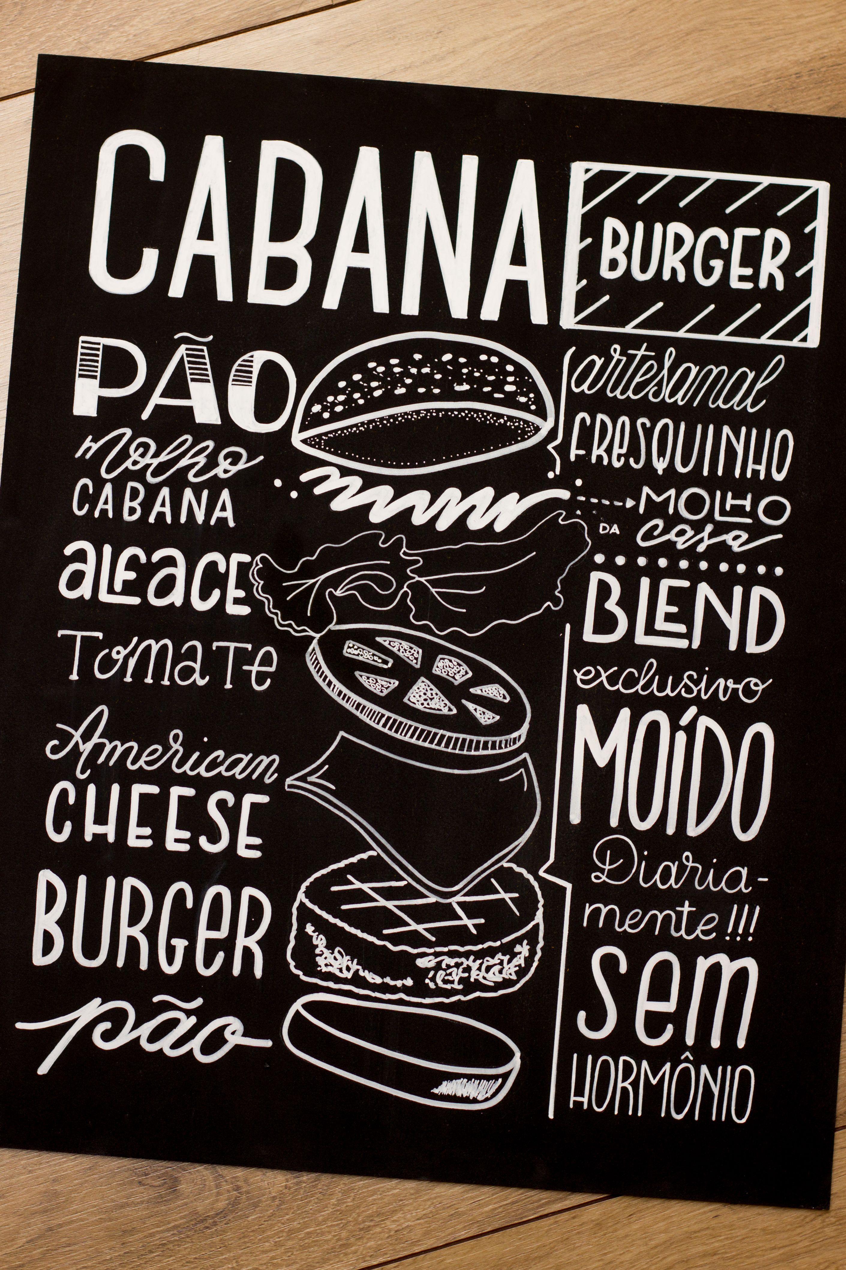 lousas para uma hamburgueria lousa posca chalkboard for a