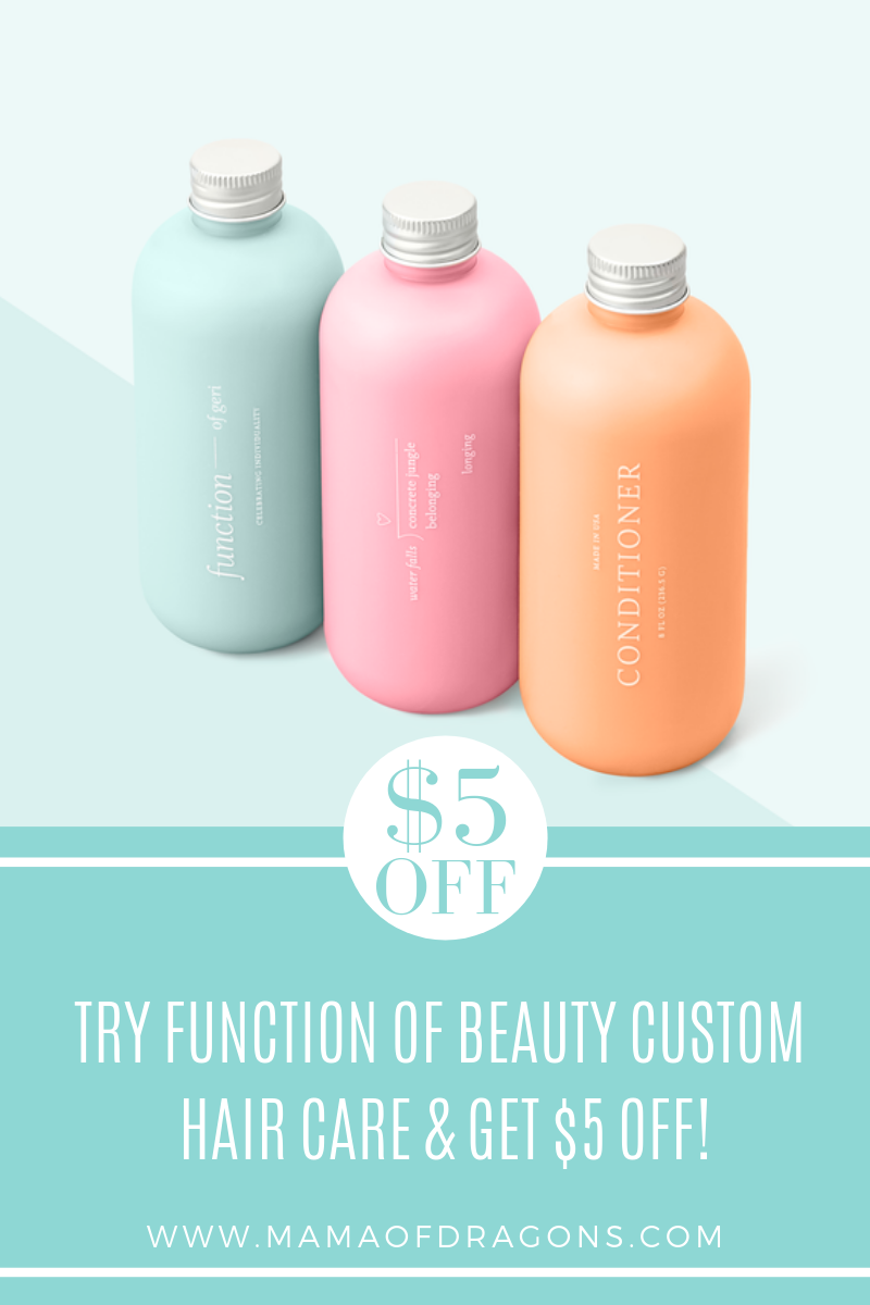 Get your own custom shampoo and condition today from