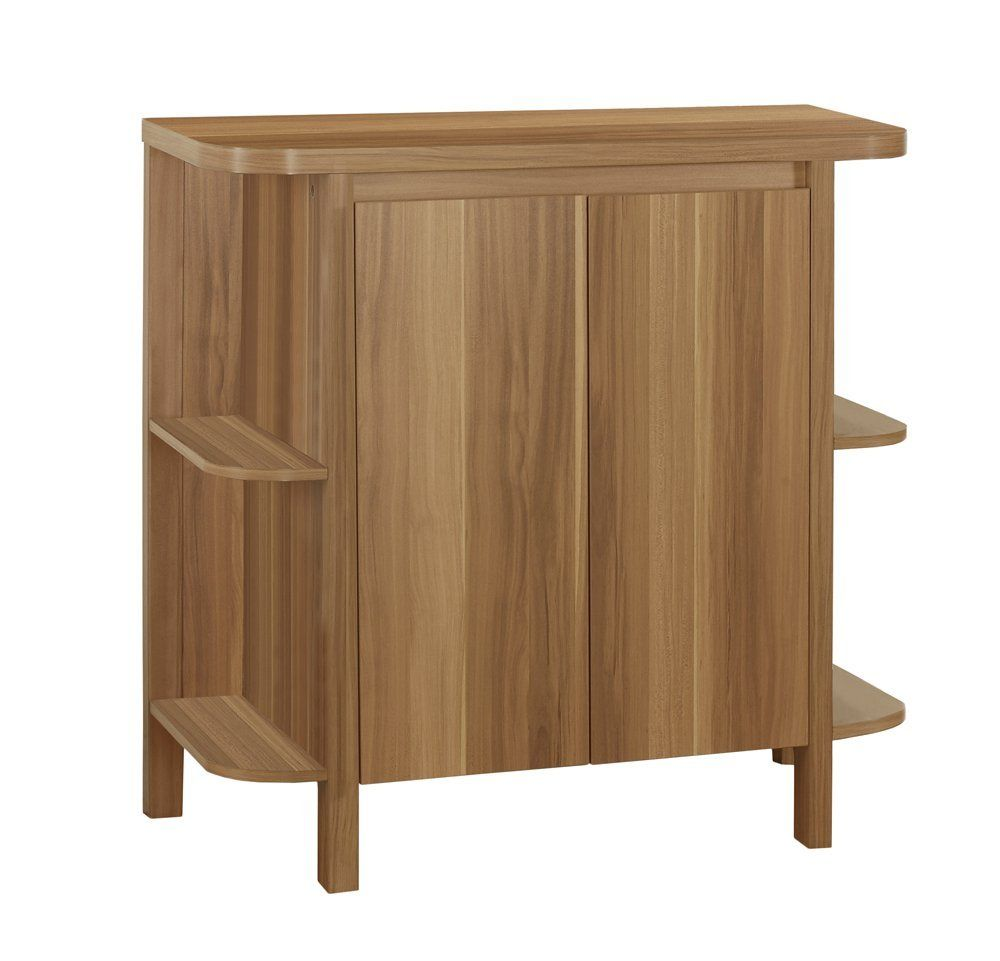 Monarch Specialties Home Bar Walnut