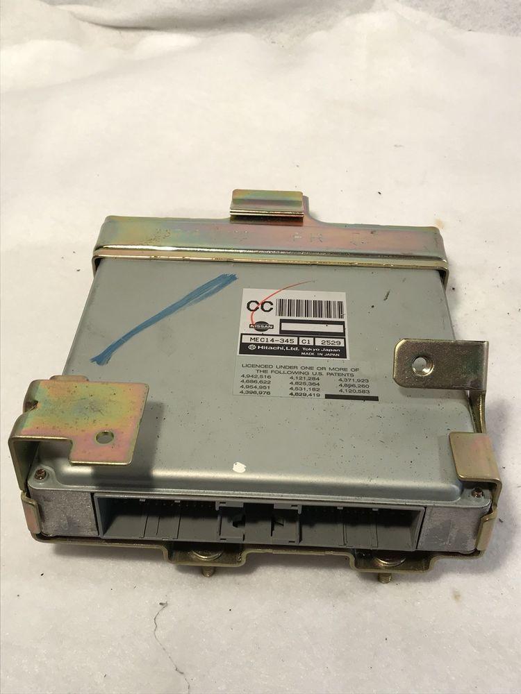 02 Nissan Pathfinder Infiniti QX4 AT ECU ECM PCM Engine