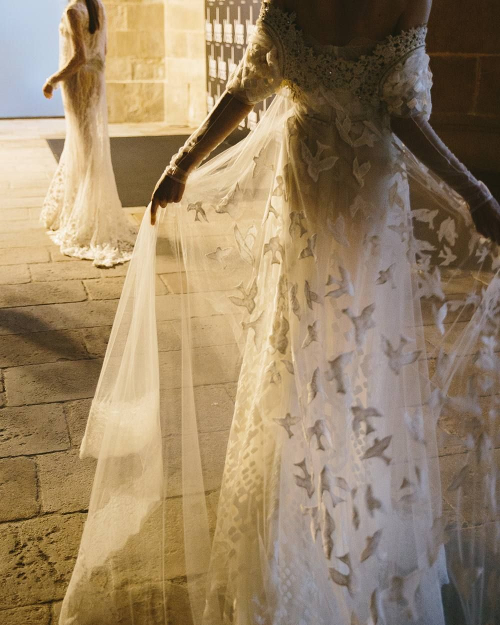 1950 wedding dress  YolanCris yolancris på Instagram ucIull spread my wings and I