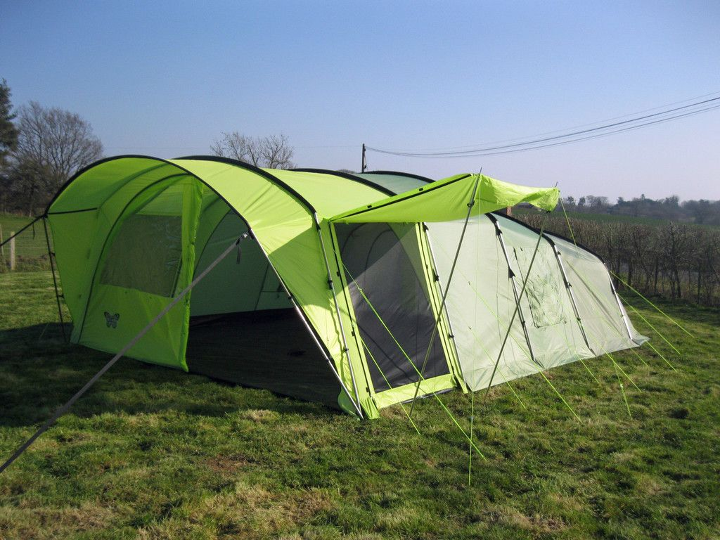 OLPRO 8 Berth Cocoon 8 Tent. A huge tent with steel poles and technical OLTex & OLPRO 8 Berth Cocoon 8 Tent. A huge tent with steel poles and ...