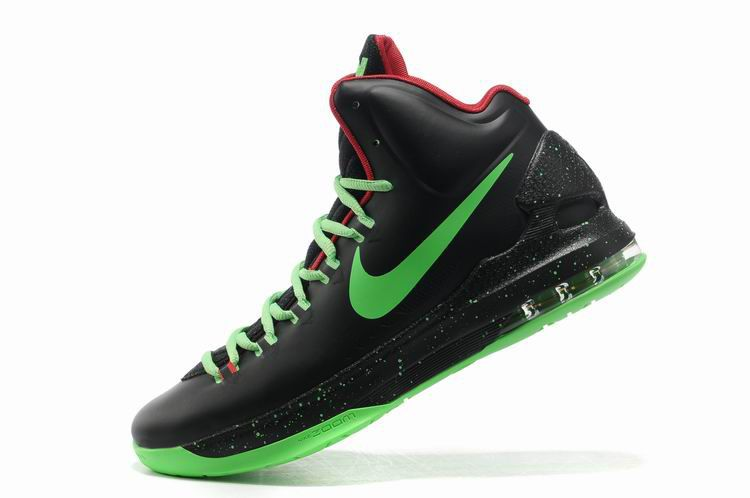 new concept 7d9a6 6b72b Black Green Nike Zoom KD V 554988 036