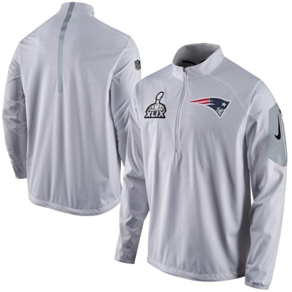 ... Tech Windrunner Sideline Jacket  Mens New England Patriots Nike White  Super Bowl XLIX Bound Media Day Alpha Fly Rush Jacket ... 93c02c7f0