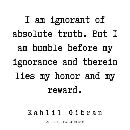 63 | Kahlil Gibran Quotes | 190701 Poster by valourine