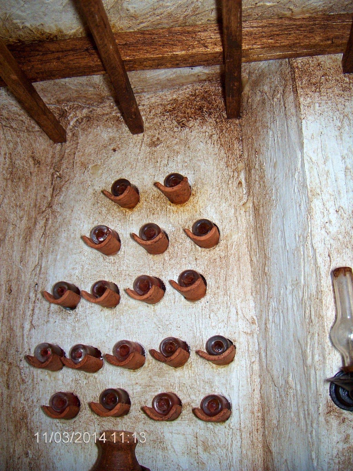 Pin de maria l pez barraj n sevilla en botelleros pinterest - Botellero de pared ...