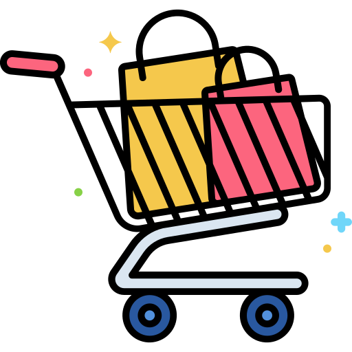 Shopping Cart Free Vector Icons Designed By Flat Icons App Store Icon Free Icons Logo Design Free Templates