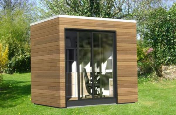 Work Space Entails A Fabricated Outdoor Office In Your Own Backyard