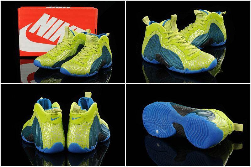 pretty nice 6105f 98d37 Buy Nike Air Flightposite Exposed Volt Photo Blue