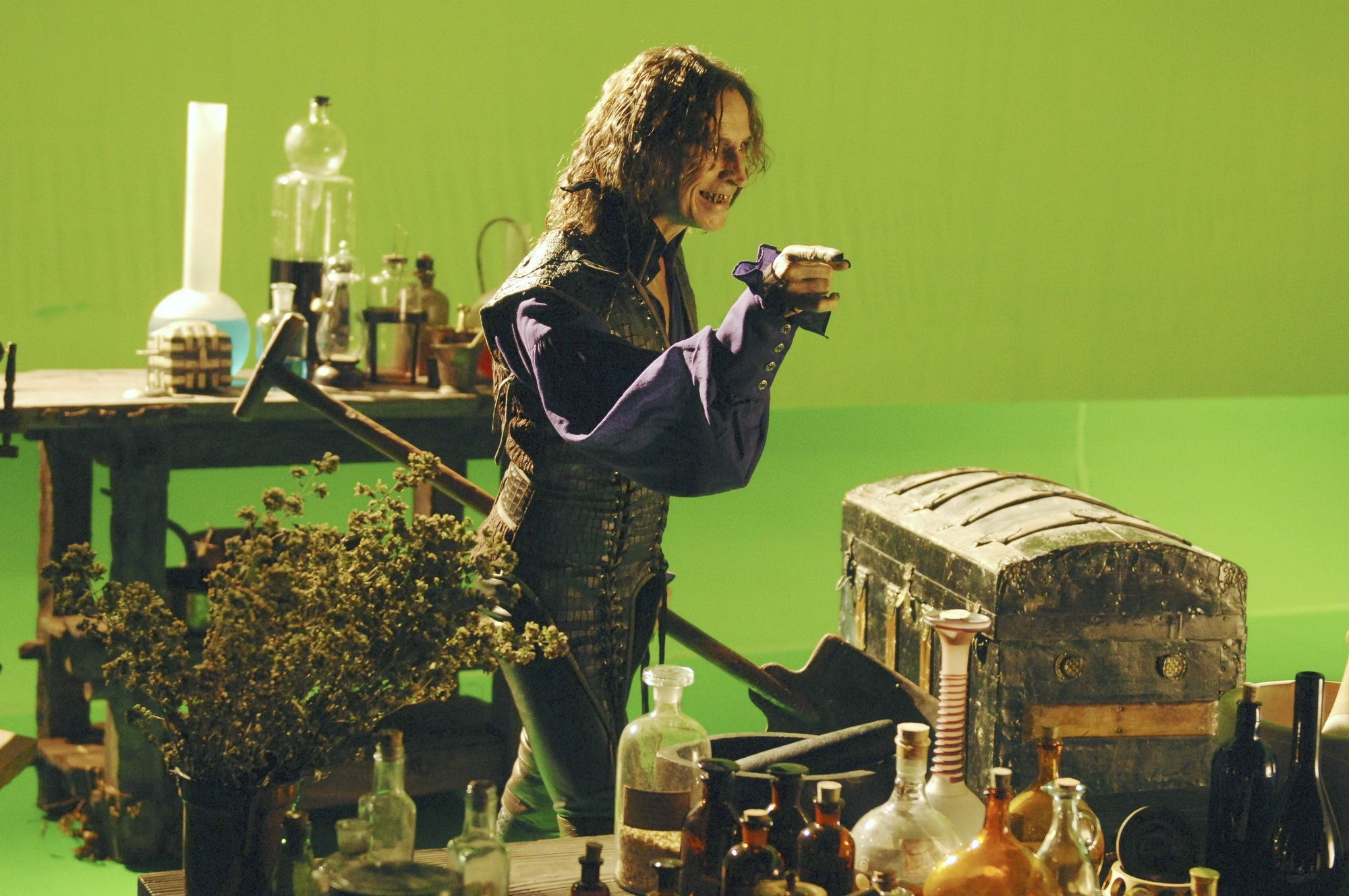 Once Upon A Time - Season 1 Green Screen Work