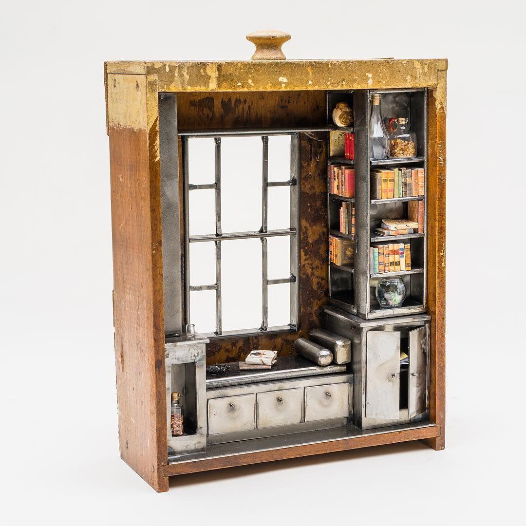 Miniature roombox ♡ ♡  By Jill Orlov