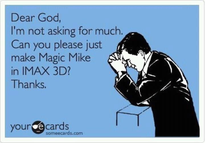 prayers on prayers #magicmike