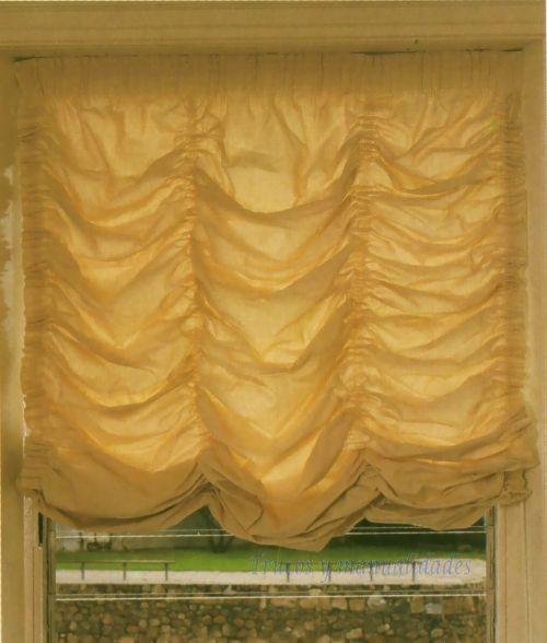 Estores austriacos o venecianos una forma de ahorrar y decorar tu casa es confeccionar tus - Formas de cortinas ...