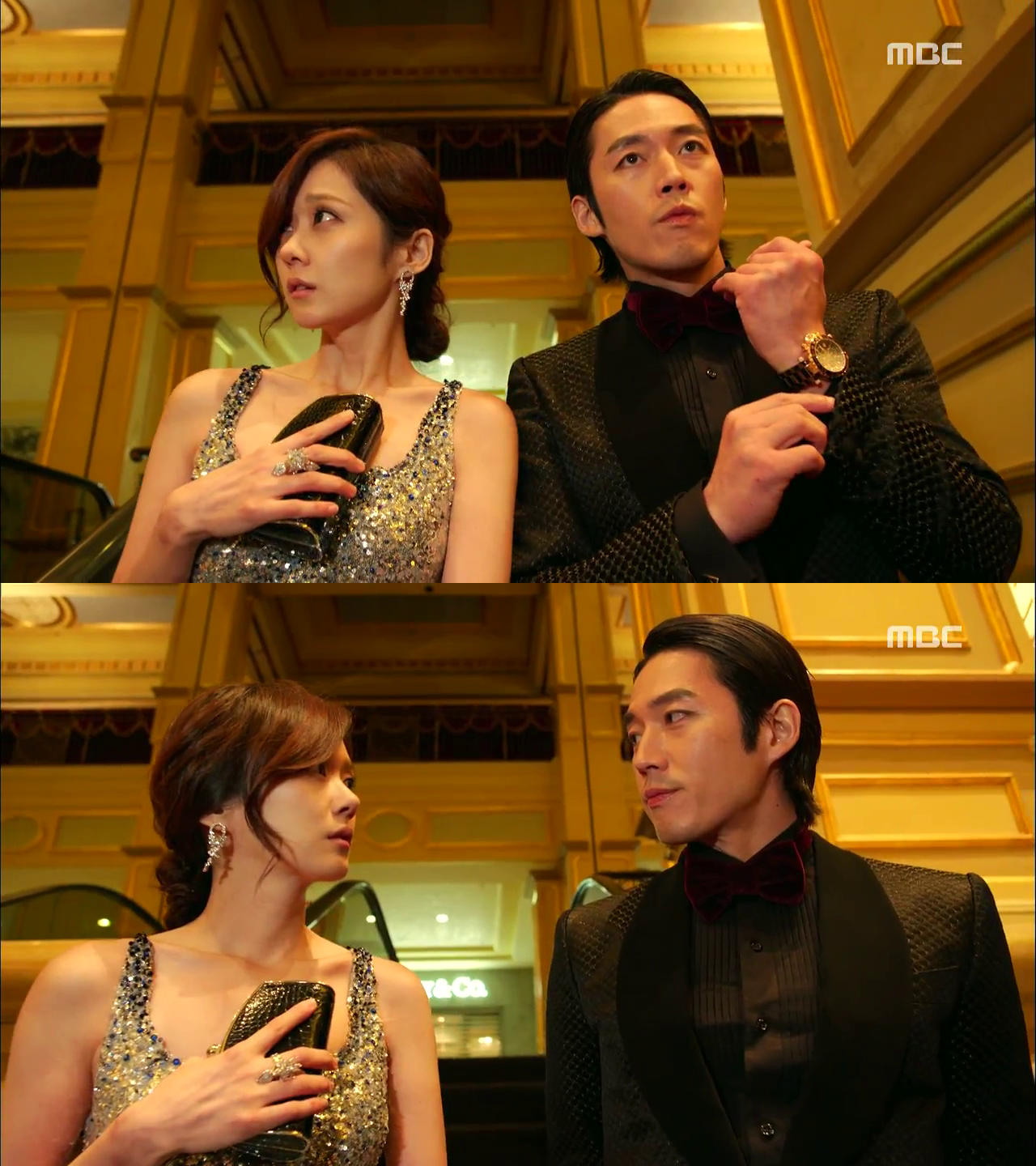 MBC Fated to Love You Lee Geon Jang Hyuk and Kim Mi Young