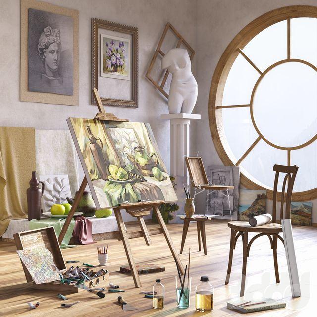Другие предметы интерьера - Мастерская художника
