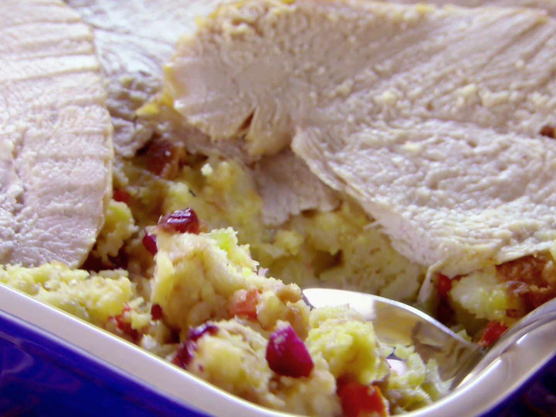 Turkey and dressing casserole recipe trisha yearwood holidays turkey and dressing casserole recipe trisha yearwood food network forumfinder Image collections