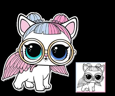 Sugar Pup Series 3 Wave 2 L O L Surprise Doll Pets Lol Dolls Lol Coloring Pages