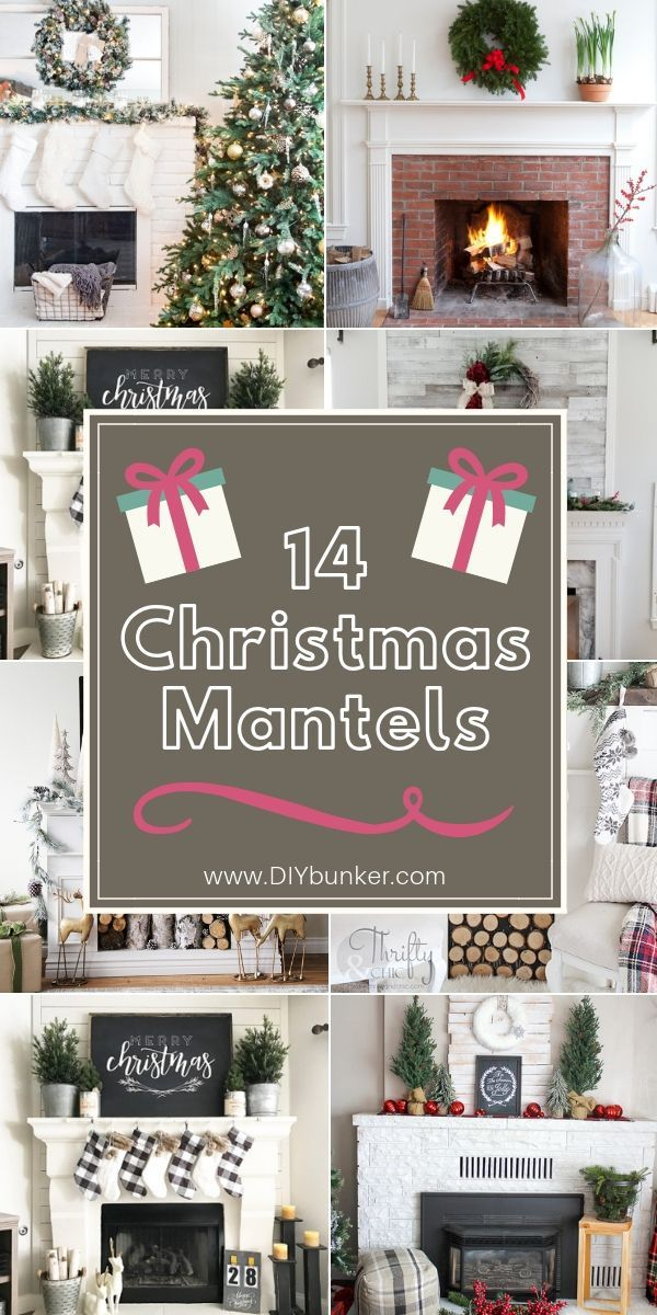 adore these easy diy christmas mantel decor ideas love getting cozy by the fireplace during cold weather and are perfect to set also decorations for that  ll bring your rh pinterest