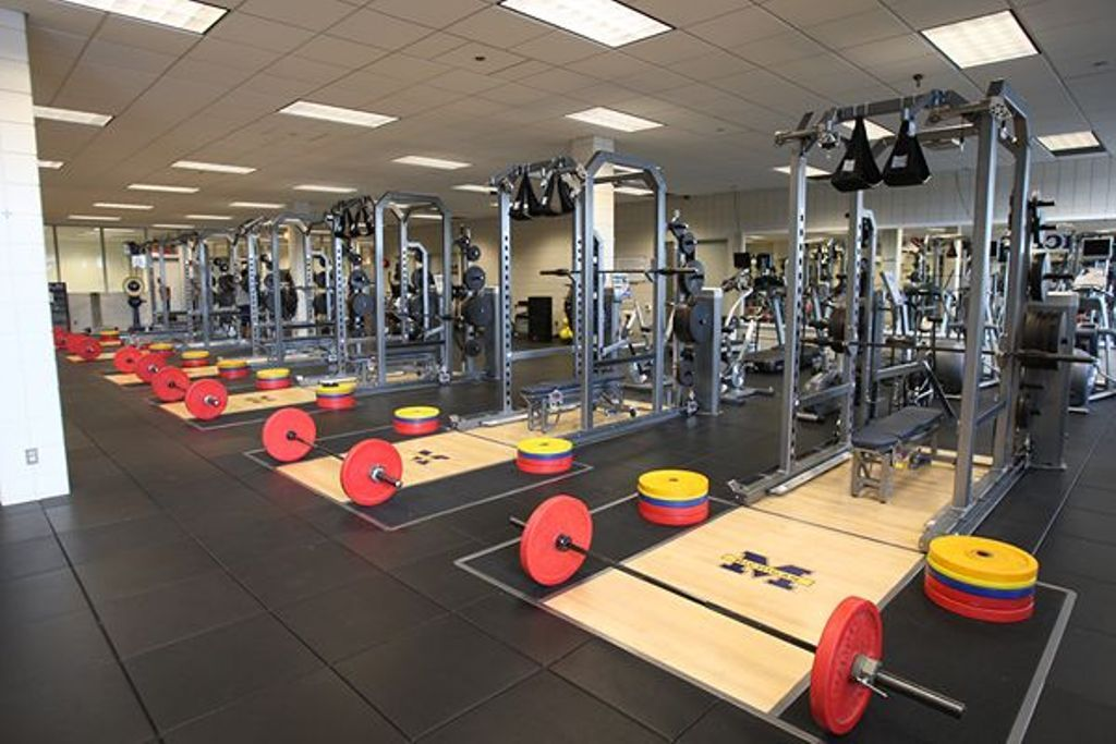 The Weight Room Michigan Football Football College Football