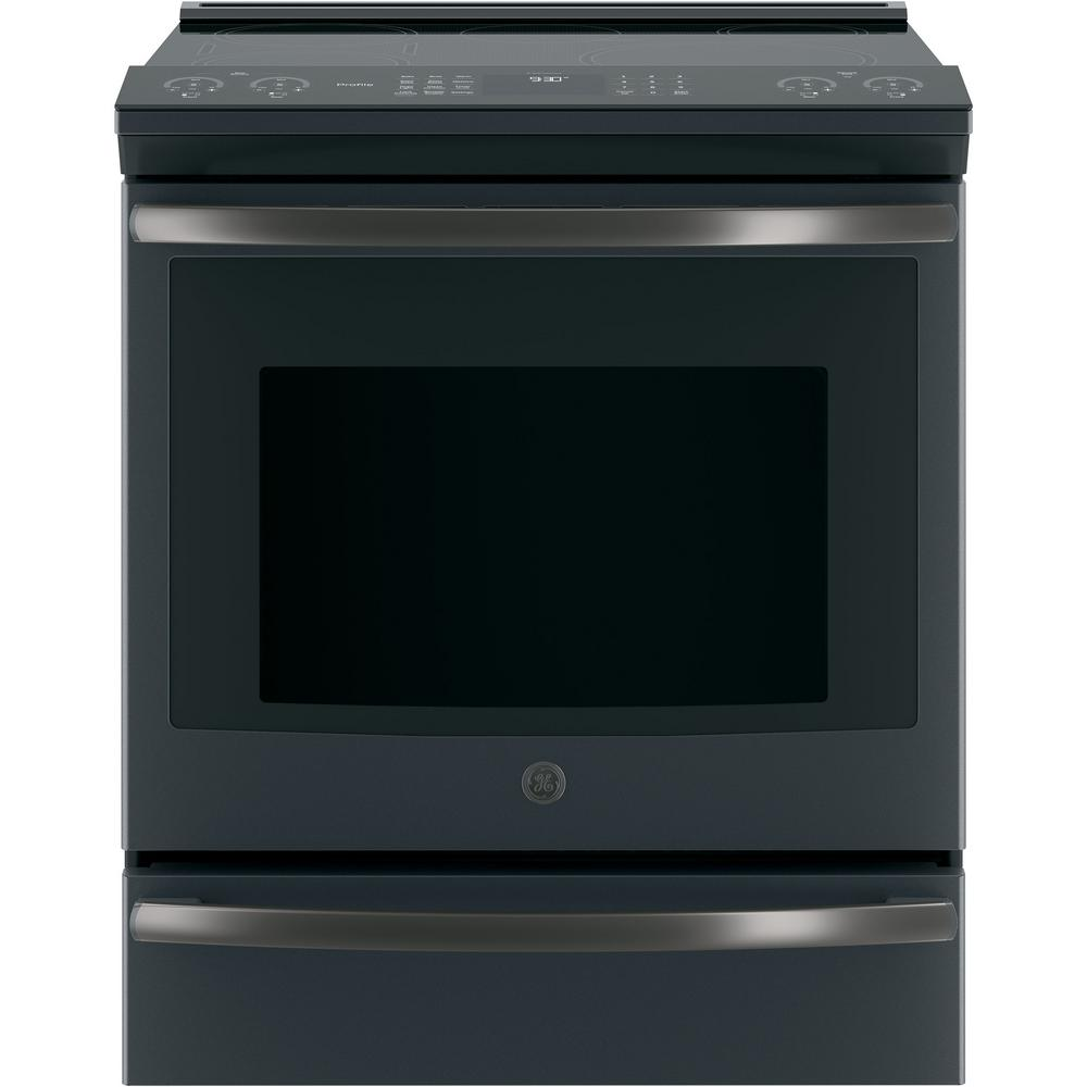Ge Profile 5 3 Cu Ft Slide In Smart Induction Ran With Self