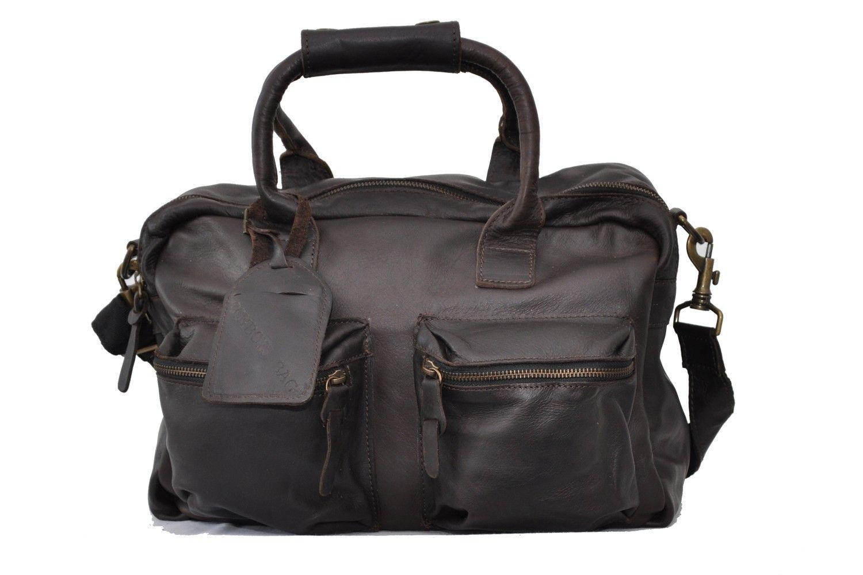 147d2b983629 Cowboysbag THE BAG Cowboys Bag small Ledertasche von Cowboysbelt pine  Marken Cowboysbelt