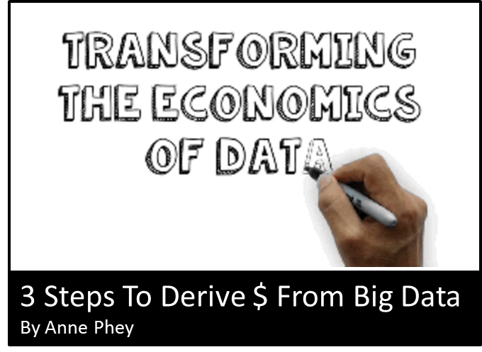 3 Steps To Monetization From Big Data | Transforming The Economics of Data
