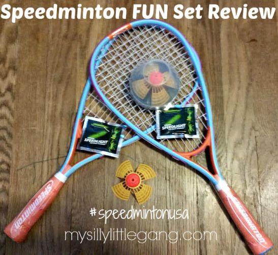 Speedminton FUN Set #Review #speedmintonusa - #mysillylittlegang