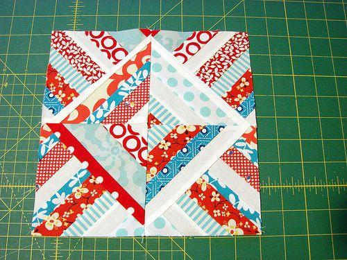 Half square triangle blocks tutorial | Quilts...String Quilts ... : string quilting tutorial - Adamdwight.com