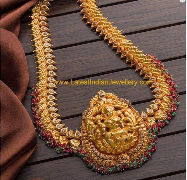 2 In 1 Gold Haram Design Bridal Gold Jewellery Designs Gold Haram Designs Gold Jewelry Fashion