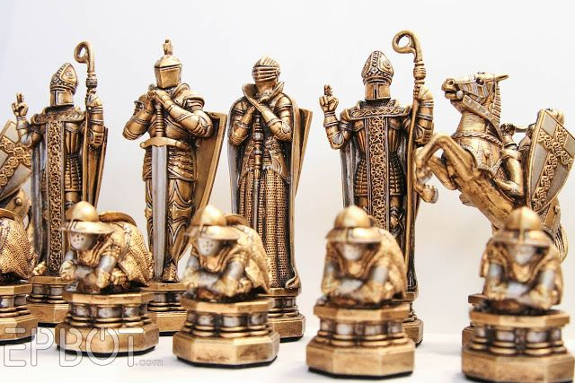 EPBOT: My Harry Potter Wizards' Chess Set Makeover ...