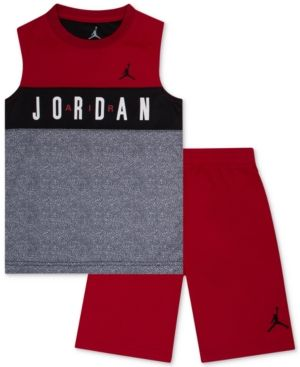 69de844296f50 Jordan 2-Pc. Tank Top   Shorts Set