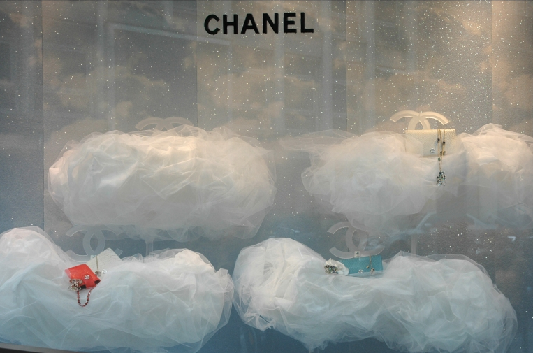 "CHANEL,""Behind every cloud is another cloud"", pinned by Ton van der Veer"