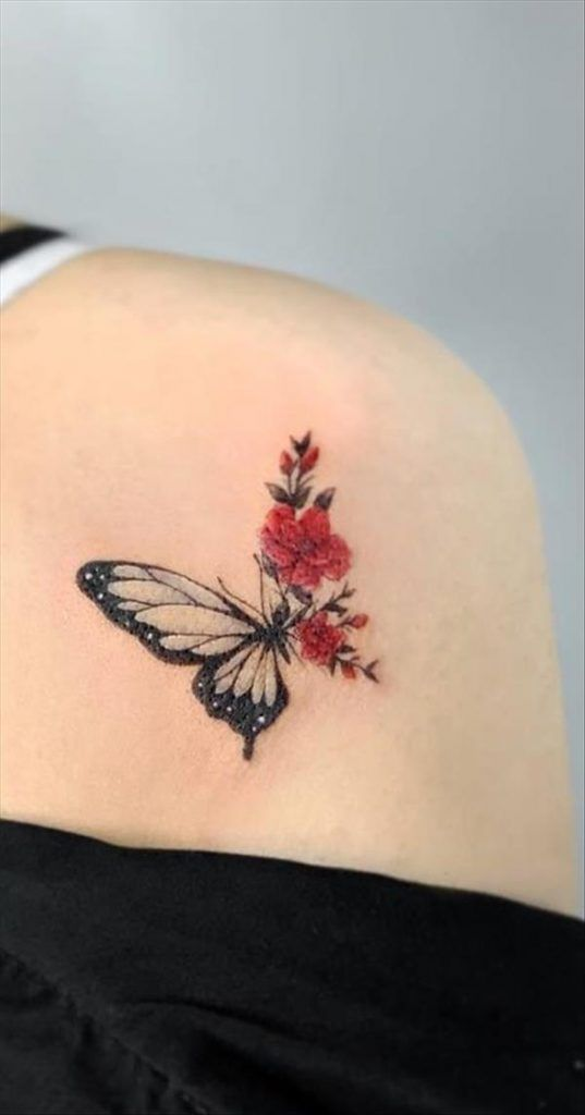 Photo of 43 Unique styles of female butterfly tattoos – Cozy living to a beautiful lifestyle
