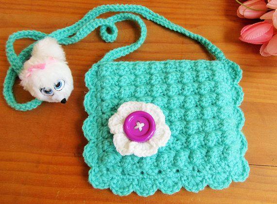 Crochet purse little girl purse girls bag gift for girl doll crochet purse little girl purse girls bag gift for girl doll accessory negle Image collections
